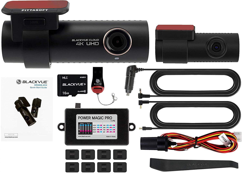 Blackvue DR900S 2CH Hardwire 2 Channel Dashcam
