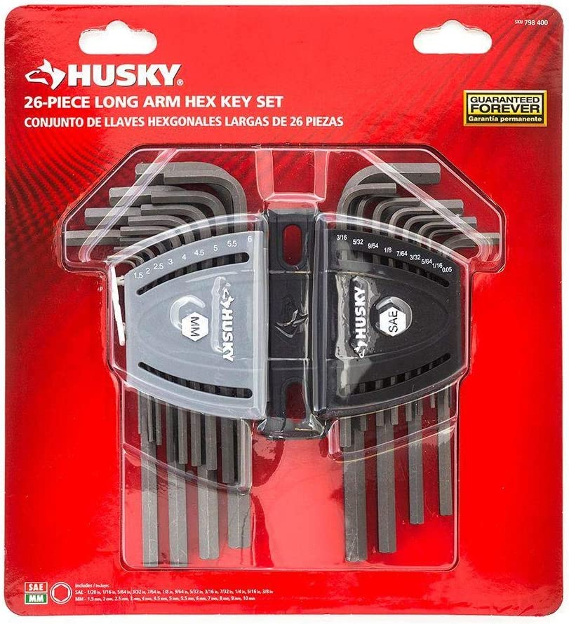 HUSKY Allen Wrenches Long short arm AMAZING PIECE WRENCH Ranking TOP19 Cheap super special price HEX 26