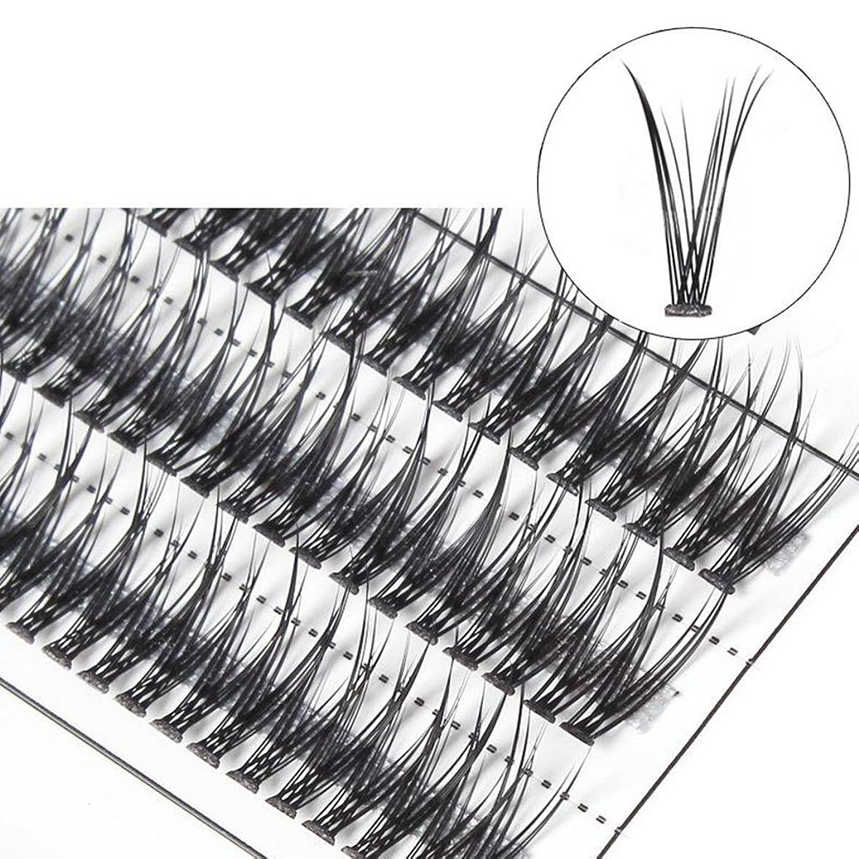 ハチ素晴らしき委員会goupgolboll-女性交差グラフト個々の天然つけまつげまつげエクステ - 10 mm