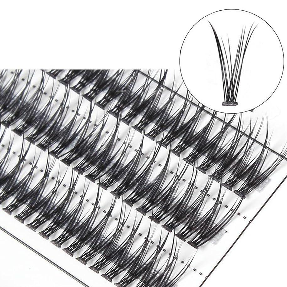 コート疎外バルクgoupgolboll-女性交差グラフト個々の天然つけまつげまつげエクステ - 10 mm