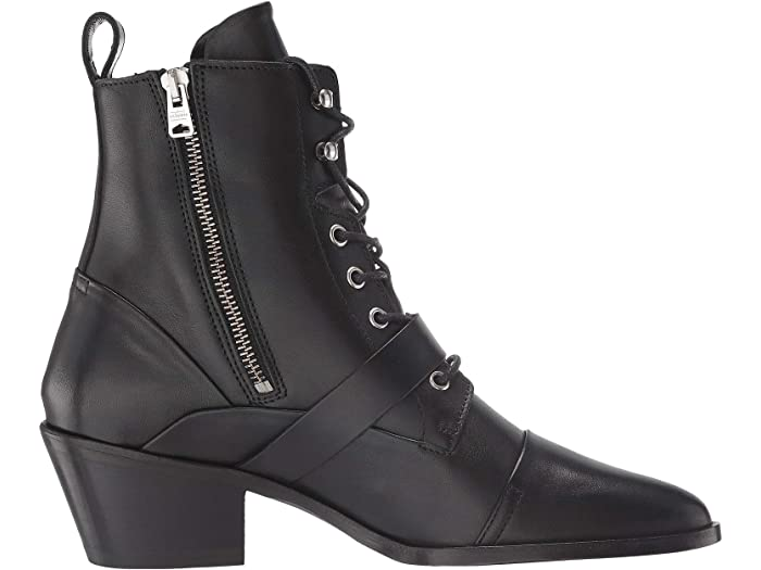 Allsaints Ky Boot Black Leher Boots