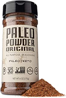 Paleo Powder All Purpose Seasoning Original Flavor. The First and Original Paleo Food Seasoning Great for a...