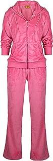 Velour Tracksuit Womens 2 Pieces Joggers Outfits Jogging Sweatsuits Set Soft Sports Sweat Suits Pants
