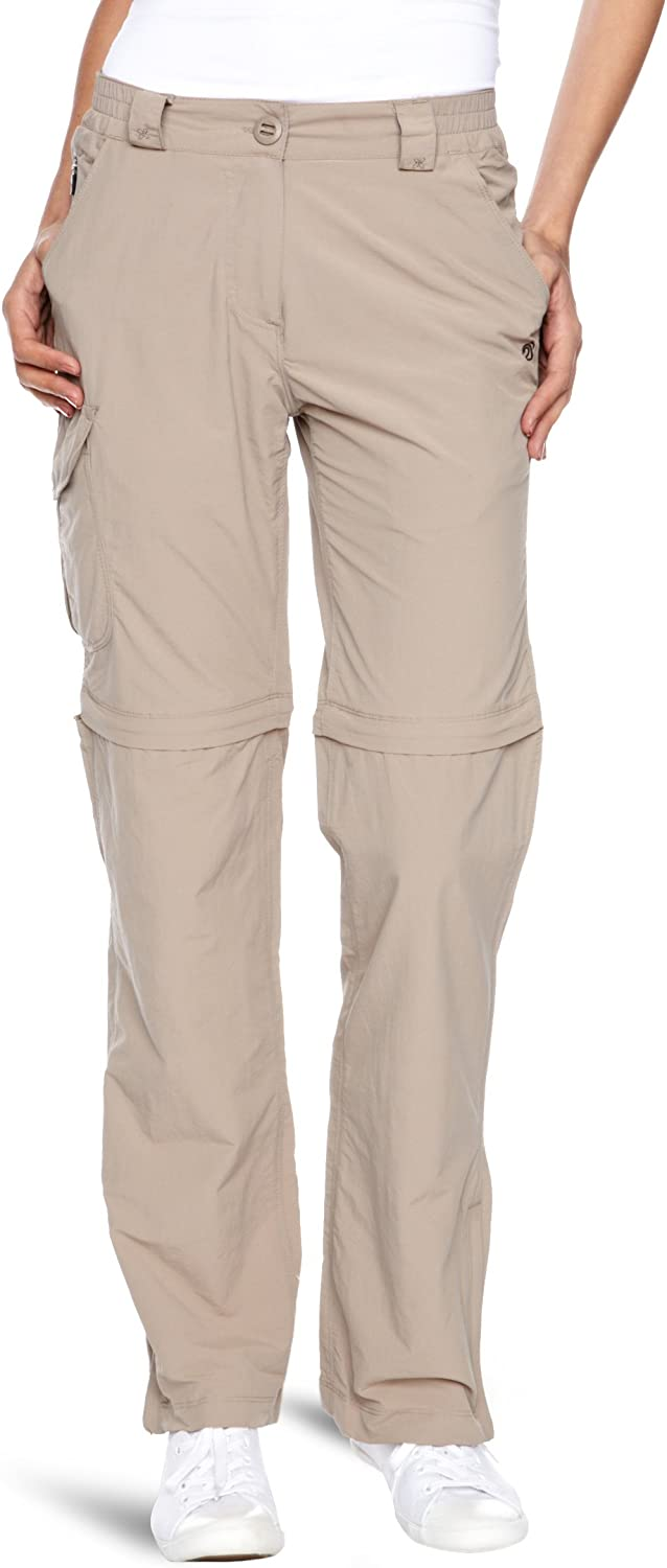 Craghoppers Women's NosiLife Kansas City 55% OFF Mall Trousers Convertible