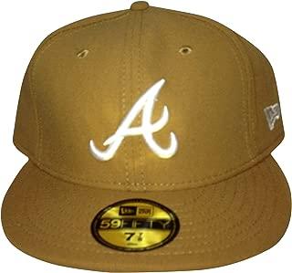 Atlanta Braves New Era Fitted Brown/White 15