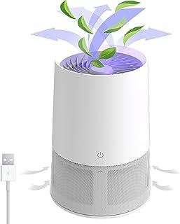 Purificador de aire Wind Talk True HEPA Purificador de aire, purificador de aire portátil, filtro de aire HEPA para el hog...