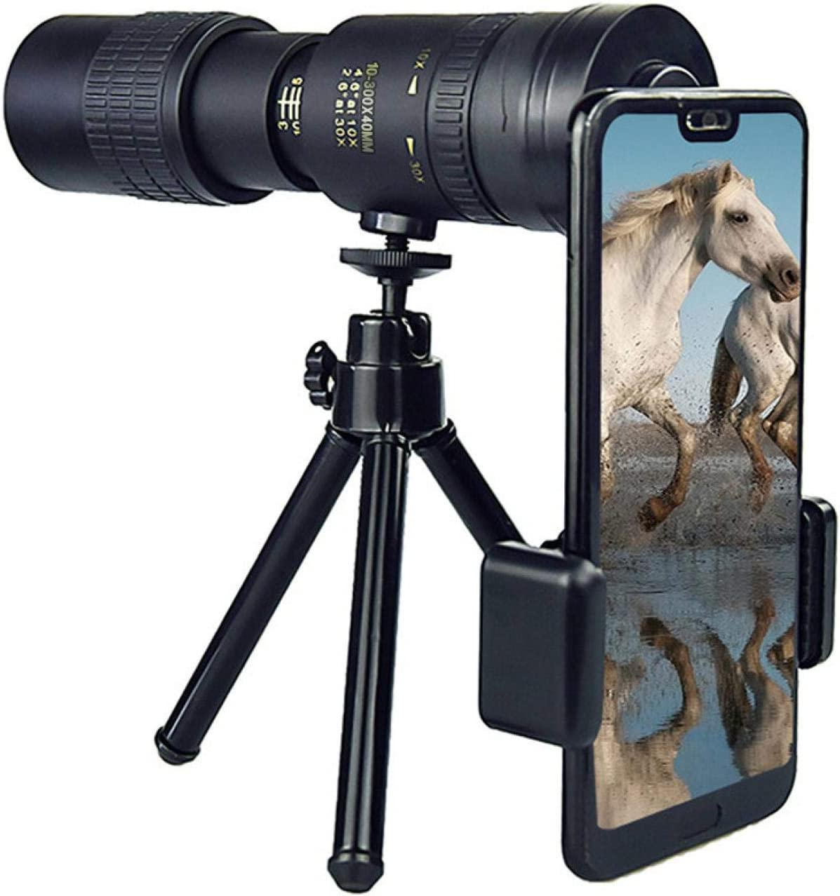 Monocular Telescope Suitable for Cheap Max 63% OFF 10-300x40mm Smartphone 4k Zoom