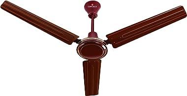 Eurolex Victor Plus 1200 mm CRCA Ceiling Fan (22 x 22 x 65 cm, Brown)