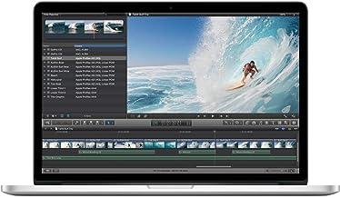 2013 Apple Macbook Pro con 2.3 GHz Core i7 (15-inch, 8GB RAM, 256GB SSD) Plata (Reacondicionado)