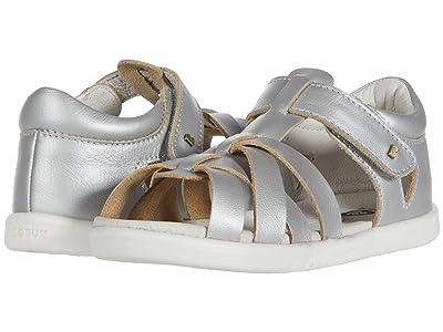 Bobux Kids I-Walk Tropicana (Toddler) (Silver) Girls Shoes