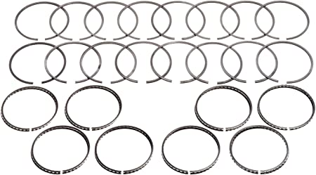 Hastings 2M5649S040 Single Cylinder Piston Ring Set