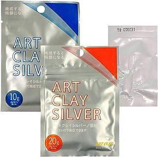 アートクレイシルバー 30g(5g増量) 銀粘土 純銀粘土 手作り シルバー アクセサリー/相田化学工業 A-2733Z