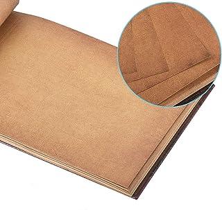 AIOR Scrapbooking Papier 28 x 18 cm, Recharge Pages Marron pour Our Adventure Book Album Photo Scrapbook 29 x 19cm, 20 pcs
