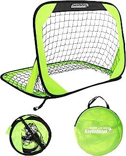 BAYINBULAK Pop Up Soccer Goal Portable Soccer Net for...