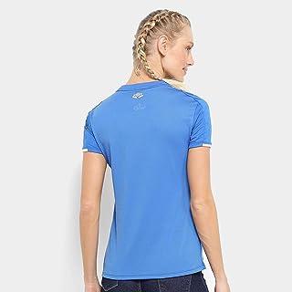 Camisa do Cruzeiro I 19/20 s/n Torcedor Umbro Feminina - Azul+branco - Gg