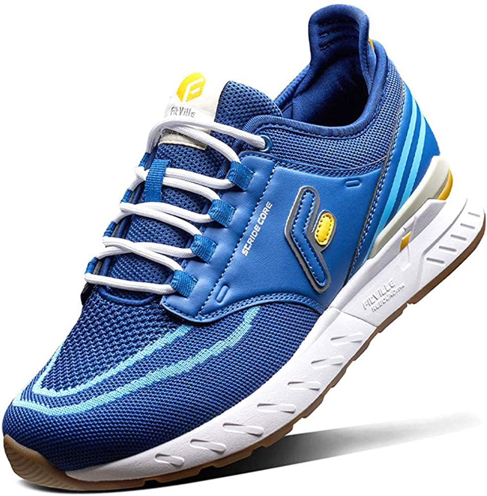 FitVille Wide Trail Our shop most New products, world's highest quality popular! popular Running Shoes Sneakers Flat for Sports Feet