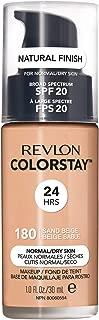 Revlon Cos Revlon Colorstay Makeup for Combination & Oily Skin, 180 Sand Beige, 1 Fl Oz, 1 Oz