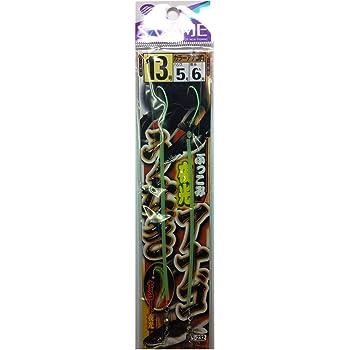 ささめ針(SASAME) E-232 ブッコミ夜光 ウナギ・アナゴ 13 5
