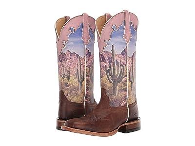 Ariat Fonda (Tobacco/Southwestern Scene) Cowboy Boots