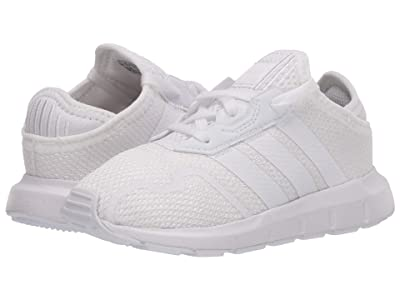 adidas Originals Kids Swift ESS I (Infant/Toddler) (Footwear White/Footwear White/Footwear White) Kids Shoes