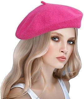 6095eb2fd4f53 Amazon.com  Pinks - Berets   Hats   Caps  Clothing