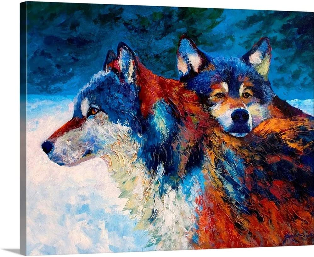 Buds Canvas Wall Art Print Special price Artwork Wolf Dallas Mall