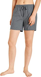 Women's Lounge Cotton Shorts with Pockets
