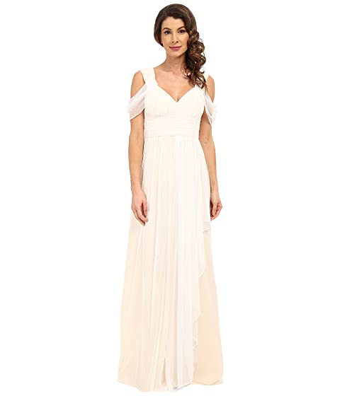 Donna Morgan Collette Dotted Mesh Gown at 6pm