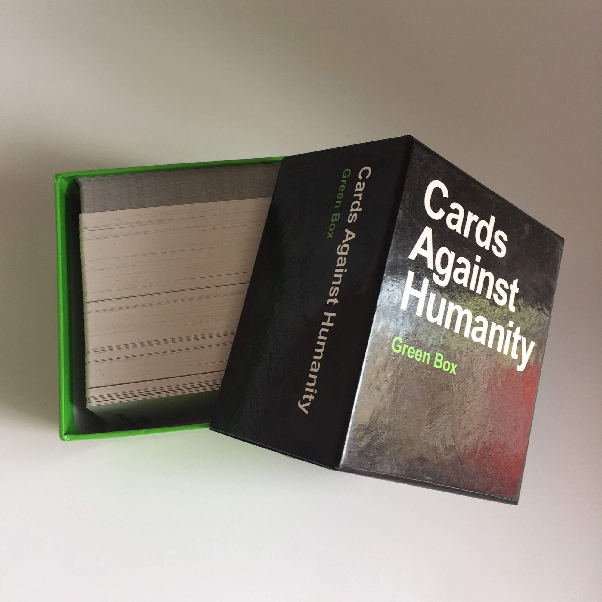 LETU Juegos de Cartas para Adultos/A Cards Against Humanity: Green Box/Party Games Juegos interactivos: Amazon.es: Hogar