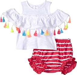 Tassel Pinafore and Bloomer Two-Piece Set (Infant)