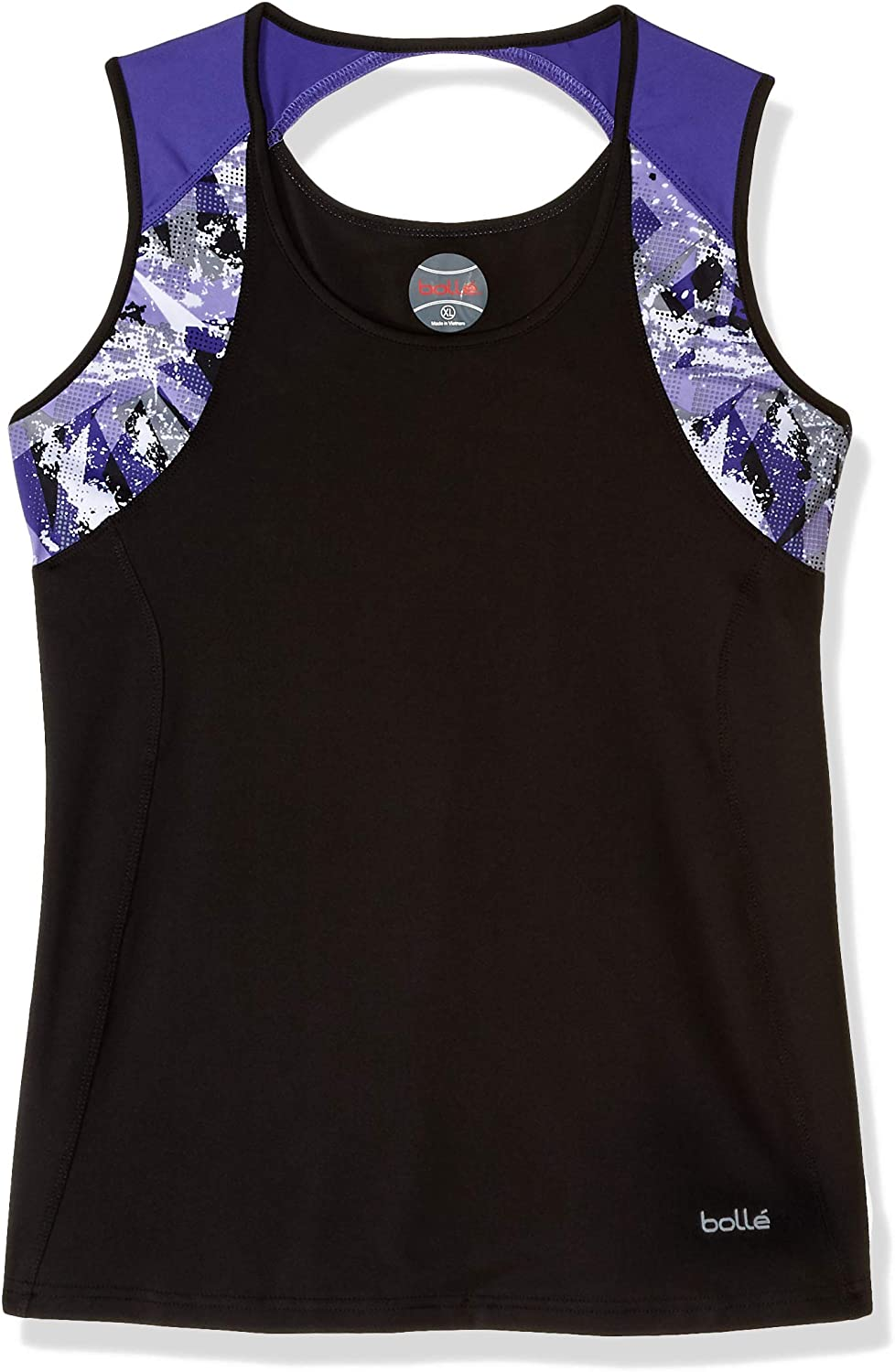 Bollé Purple Passion Scoop Neck Tennis Tank, Purple Passion