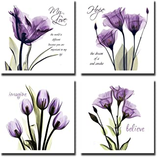 Amazon.com: Purple - Wall Art: Home & Kitchen