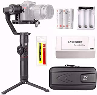 Zhiyun Crane 2 (2017 New Crane2) 3-Axis Handheld Gimbal Stabilizer w/Follow Focus 7lb Payload OLED Display 18hrs Runtime T...