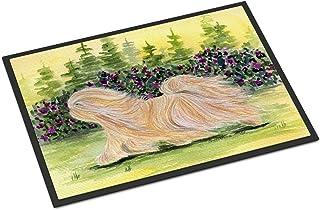 """Caroline's Treasures Lhasa Apso Indoor Outdoor Doormat, 18"""" x 27"""", Multicolor"""