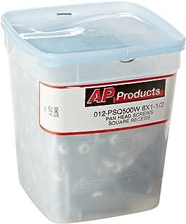 AP Products 012-PSQ500W White 1-1/2