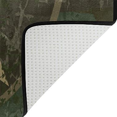Coosun militaire Fond Zone Tapis Moquette antidérapant Tapis de sol Paillasson pour salon Chambre à coucher 91.4 x 61 cm, Tis