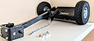 Velke New VKX2 Sulky Black Walkbehind Ride/Stand Attachment - Heavy Duty