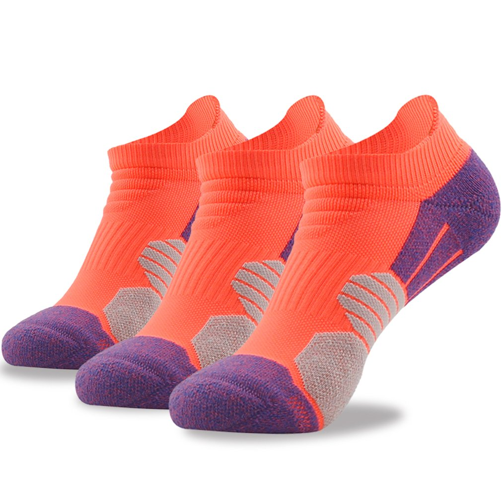 スポーツ屋外ランニングショートを助けるためにニコールメンズTABパフォーマンス低靴下