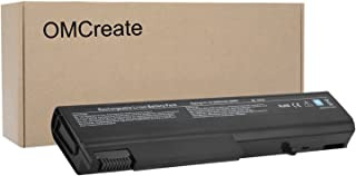 OMCreate Battery Compatible with HP EliteBook 8440P 6930P 8440W ProBook 6550B 6455B Compaq 6730B 6735B 6530B, fits P/N 482962-001 HSTNN-UB69 KU531AA - 12 Months Warranty [Li-ion 6-Cell]