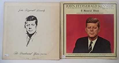 John F Kennedy Lot of 2 Vinyl Record Albums The Presidential Years 1960-1963 and more