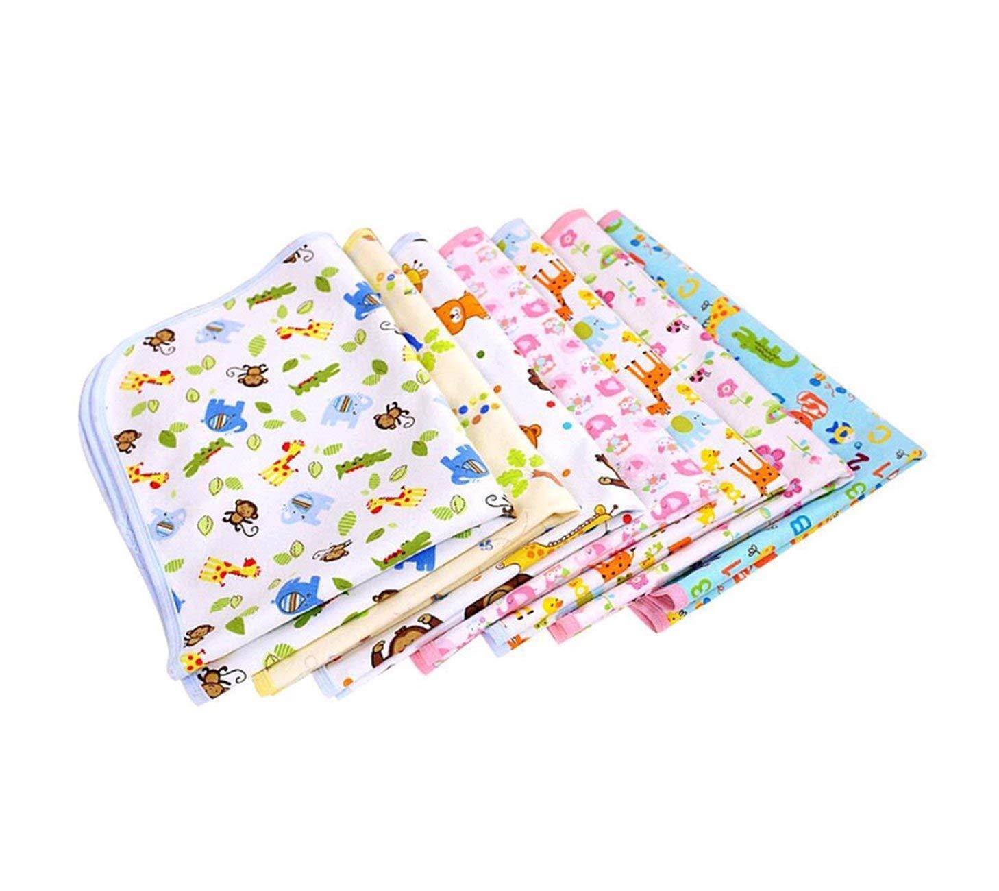 Clevamama 3329 Inkontinenzauflage Waschbar Baby rosa 200 g Einmalunterlagen Bett in Baumwolle