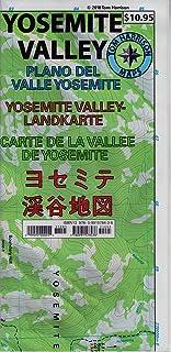 Yosemite Valley Map (CA) (Tom Harrison Maps)