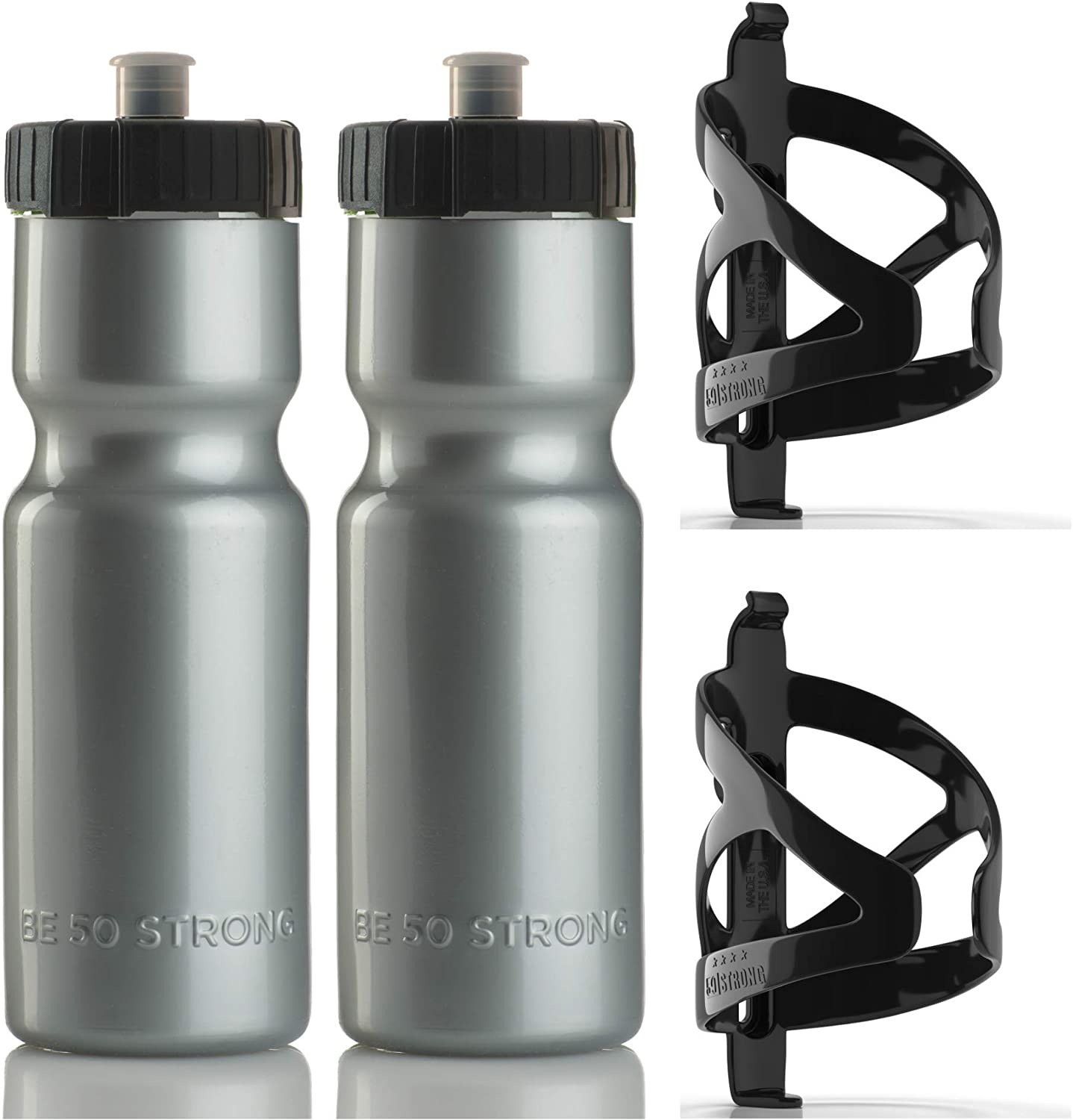 Max 88% OFF Bike 100% quality warranty! Bottle Holder with Water - 22 2 oz. BPA Free Pack