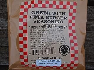 Best greek burger seasoning Reviews