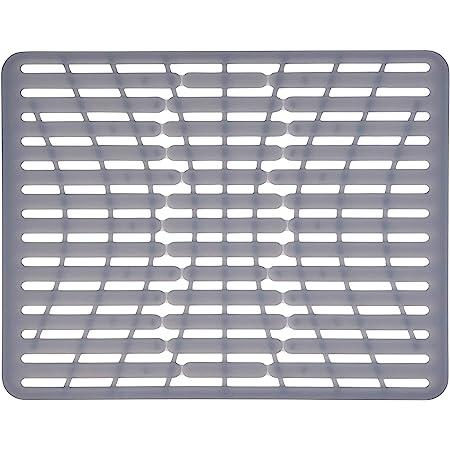 OXO Good Grips – Tapis de fond d'évier en silicone ou protège évier - Grand format