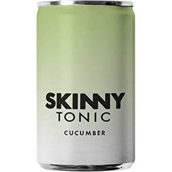 Cucumber Tonic Water | Skinny Tonic | 24 Cans | 24 x 150ml Cans