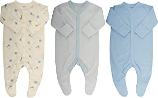 Ex-Store Mothercare 3 Cotton Sleepsuits