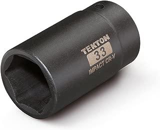 TEKTON 4943 1/2-Inch Drive by 33 mm Deep Impact Socket, 6-Point