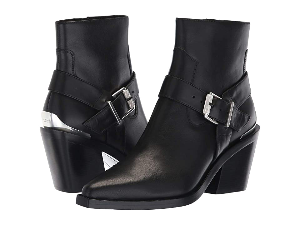 rag & bone Ryder Bootie (Black) Women