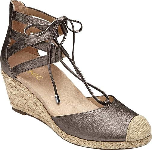 Vionic Aruba Calypso femmes Open Toe Leather or Wedge Sandal